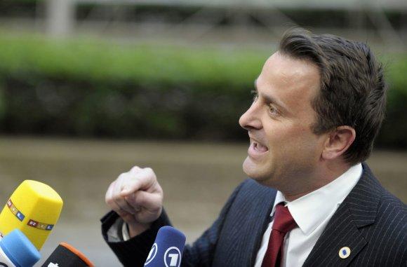 """""""Reuters""""/""""Scanpix"""" nuotr./Liuksemburgo ministras pirmininkas Xavieras Bettelis"""