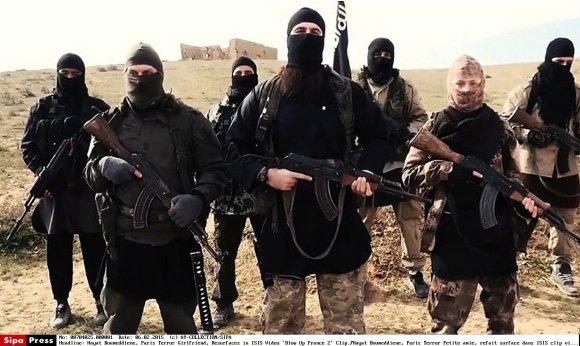 """""""Scanpix""""/""""SIPA"""" nuotr./IS džihadistai"""