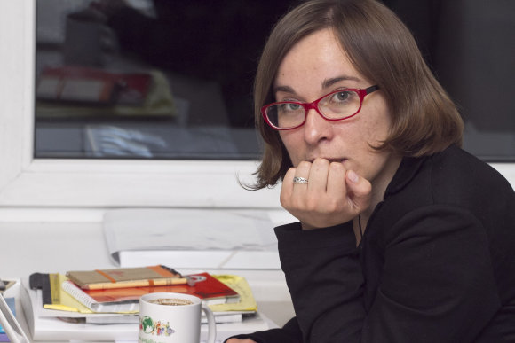 Vytauto Valentinavičiaus nuotr. /Lietuvos žmogaus teisių centro direktorė Birutė Sabatauskaitė