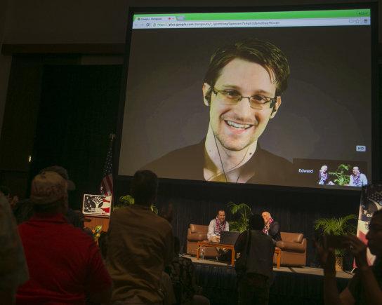 """Scanpix""/AP nuotr./Edwardas Snowdenas"