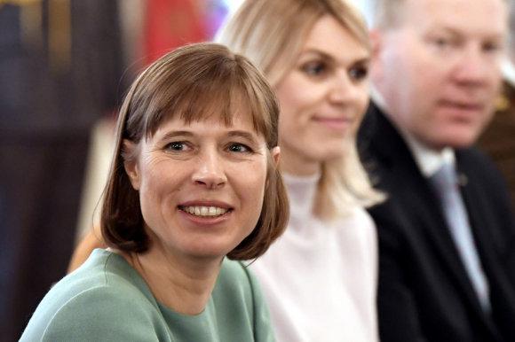 """Reuters""/""Scanpix"" nuotr./Kersti Kaljulaid"