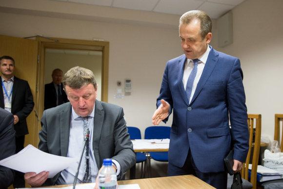 Žygimanto Gedvilos / 15min nuotr./Vitalijus Gailius ir Artūras Skardžius