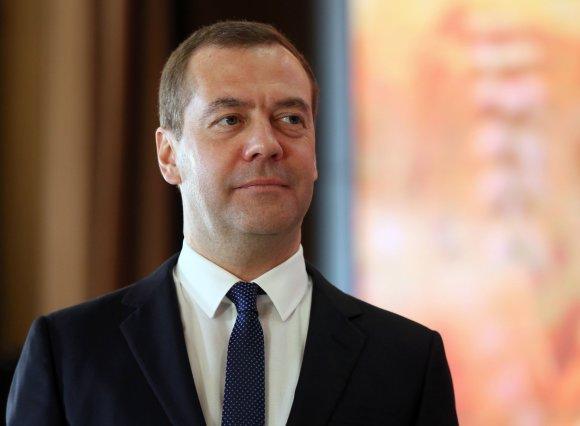 """Scanpix"" nuotr./Dmitrijus Medvedevas"