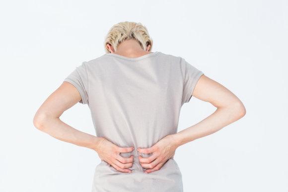 Vida Press nuotr./Nugaros skausmas