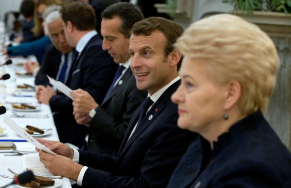 """""""Reuters""""/""""Scanpix"""" nuotr./ES viršūnių susitikimas Taline"""