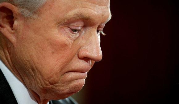 """""""Reuters""""/""""Scanpix"""" nuotr./JAV generalinis prokuroras Jeffas Sessionsas"""
