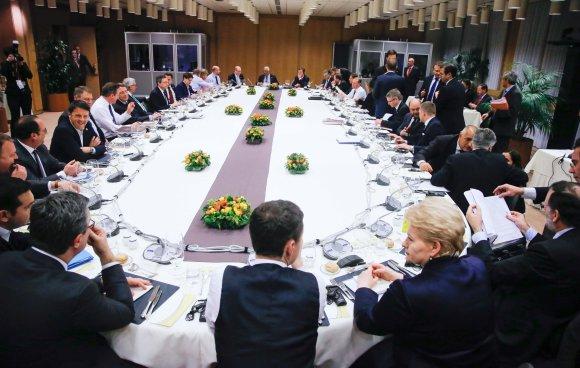 "AFP/""Scanpix"" nuotr./Europos Vadovų Taryba"
