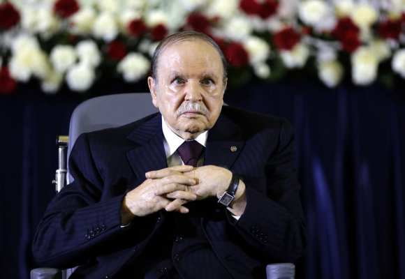 """Reuters""/""Scanpix"" nuotr./Alžyro prezidentas Abdelazizas Bouteflika"