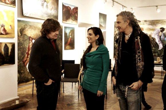 """""""Trade Hub Production"""" nuotr./Sigitas Staniūnas (kairėje) Argentiniečių vokalistė Sofia Rei"""