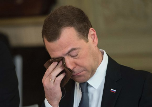 "AFP/""Scanpix"" nuotr./Rusijos premjeras Dmitrijus Medvedevas"