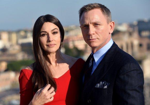 "AFP/""Scanpix"" nuotr./Monica Bellucci ir Danielis Craigas"