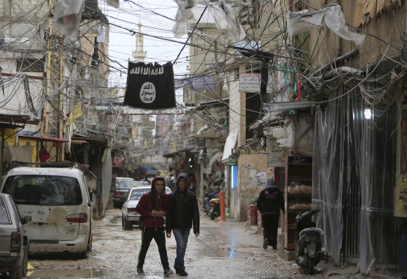 """Reuters""/""Scanpix"" nuotr./""Islamo valstybės"" vėliava"