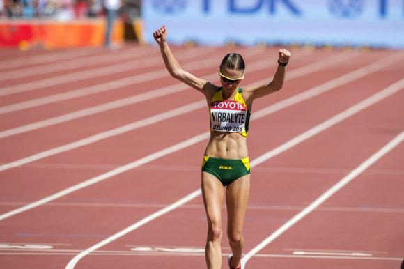Alfredo Pliadžio nuotr./Brigita Virbalytė sėkmingai pasirodė pasaulio čempionate