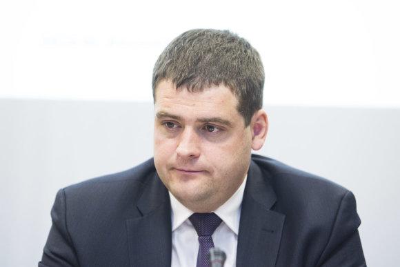 Irmanto Gelūno / 15min nuotr./Seimo Ekonomikos komiteto pirmininkas Remigijus Žemaitaitis