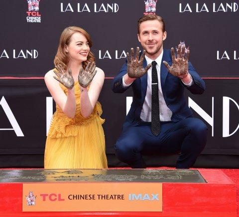 """""""Scanpix"""" nuotr./Emma Stone ir Ryanas Goslingas"""