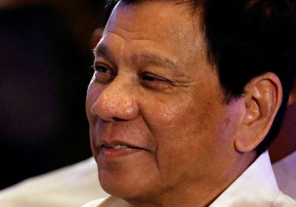 """""""Reuters""""/""""Scanpix"""" nuotr./Rodrigo Duterte"""