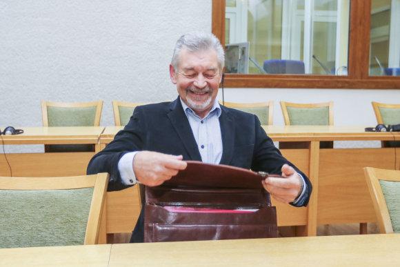 Irmanto Gelūno / 15min nuotr./Konservatorių Priežiūros komitetas aiškinasi Juozo Pundziaus turtų kilmę