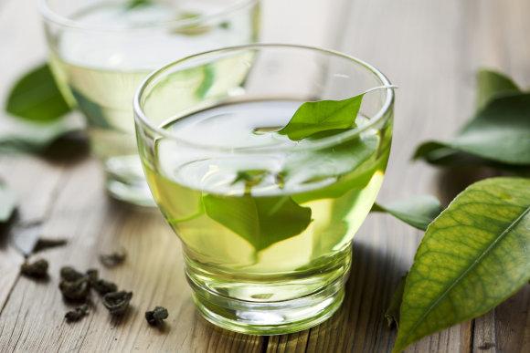 Fotolia nuotr./Žalioji arbata