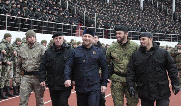 """""""Scanpix""""/AP nuotr./Ramzanas Kadyrovas"""