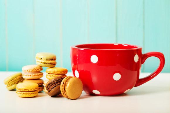 Fotolia nuotr./Kava su sausainiais