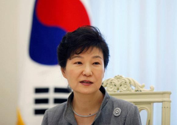 """""""Reuters""""/""""Scanpix"""" nuotr./Park Geun-hye"""