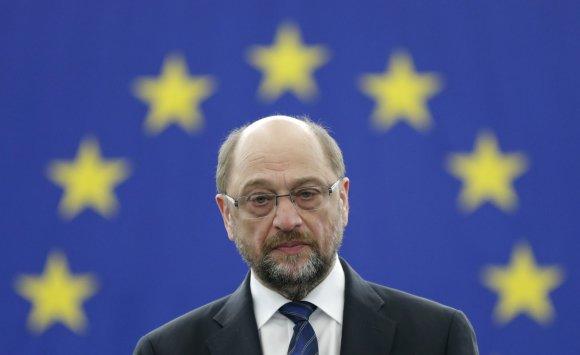 """Reuters""/""Scanpix"" nuotr./Buvęs Europos Parlamento pirmininkas Martinas Schulzas"