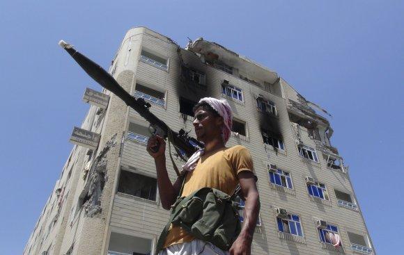 """""""Reuters""""/""""Scanpix"""" nuotr./Konfliktą Jemene pertraukė 5 dienų humanitarinės paliaubos"""