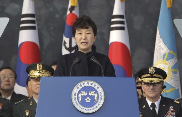 """Scanpix""/AP nuotr./Pietų Korėja Park Geun-hye."