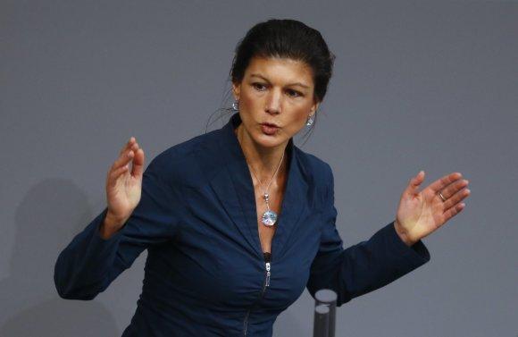 """""""Reuters""""/""""Scanpix"""" nuotr./Sahra Wagenknecht"""