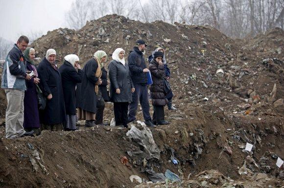 """""""Reuters""""/""""Scanpix"""" nuotr./Rasta nauja Srebrenicos žudynių masinė kapavietė"""