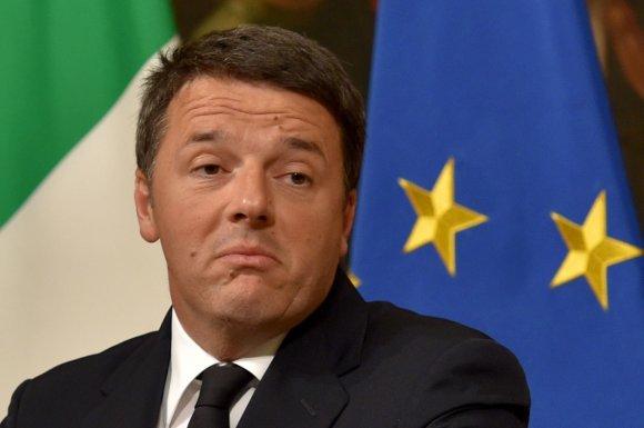 """AFP/""""Scanpix"""" nuotr./Matteo Renzi"""
