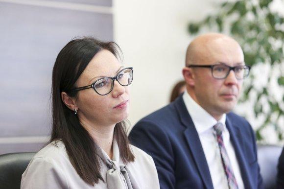 Irmanto Gelūno / 15min nuotr./Eglė Radišauskienė – Socialinės apsaugos ir darbo ministerijos Darbo departamento direktorė