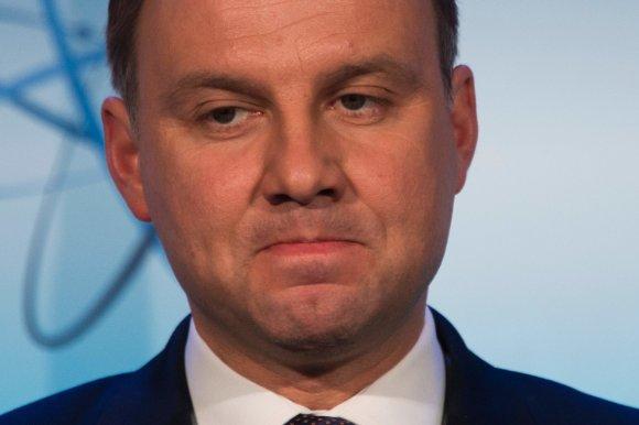 "AFP/""Scanpix"" nuotr./Lenkijos prezidentas Andrzejus Duda."