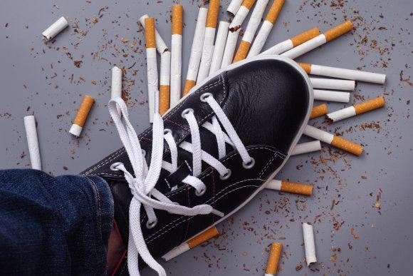 """""""Fotolia"""" nuotr./Rūkymas"""