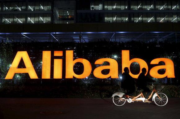 """""""Reuters""""/""""Scanpix"""" nuotr./""""Alibaba"""" būstinė Kinijoje"""