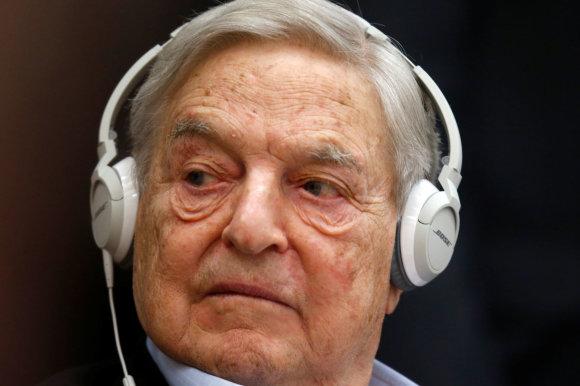 """Reuters""/""Scanpix"" nuotr./George'as Sorosas"