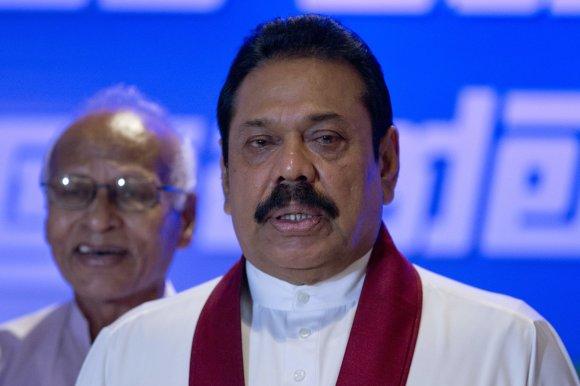 """AFP/""""Scanpix"""" nuotr./Mahinda Rajapaksa"""