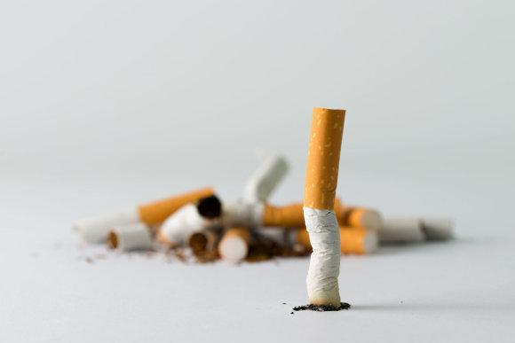 123rf.com nuotr. /Cigaretė