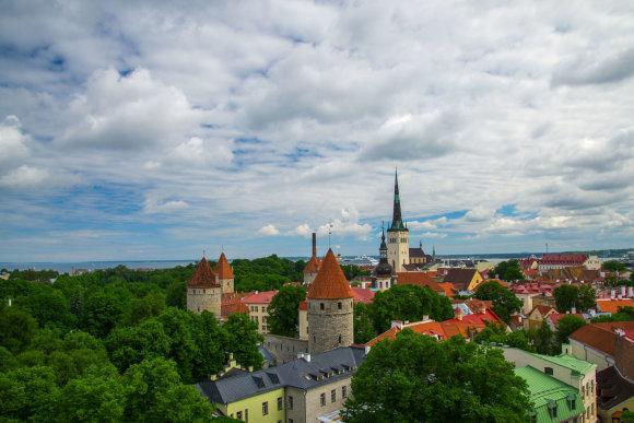 123rf.com nuotr. /Estijos sostinė Talinas