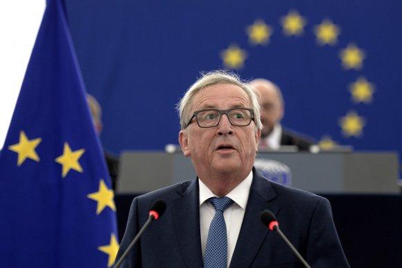 """AFP/""""Scanpix"""" nuotr./Europos Komisijos vadovas Jeanas-Claude'as Junckeris"""