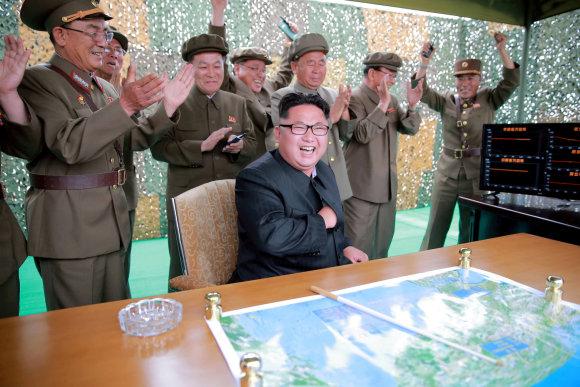 X02538/Kim Jong Unas