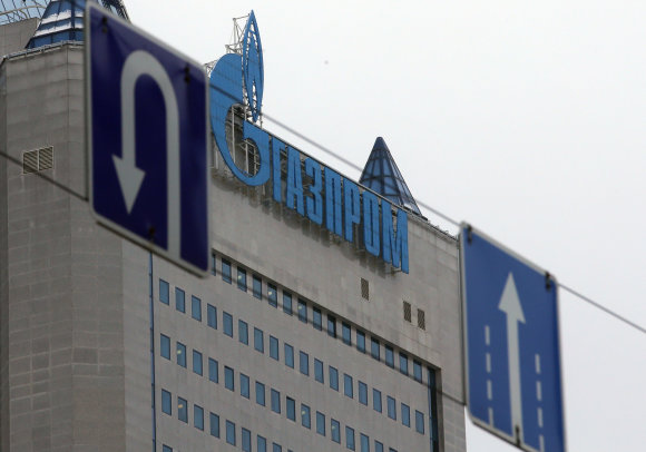 "Scanpix/Sputnik nuotr./""Gazprom"" pastatas"