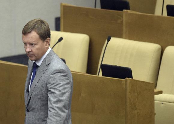 """""""Reuters""""/""""Scanpix"""" nuotr./Kijevo centre nužudytas buvęs Rusijos Valstybės Dūmos deputatas Denisas Voronenkovas"""