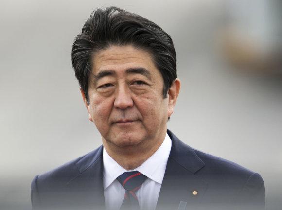 """""""Scanpix""""/AP nuotr./Japonijos premjeras Shinzo Abe Havajuose"""