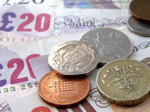 123rf.com nuotr. /Didžiosios Britanijos svarai sterlingų
