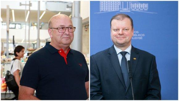 15min nuotr./Visvaldas Matijošaitis ir Saulius Skvernelis