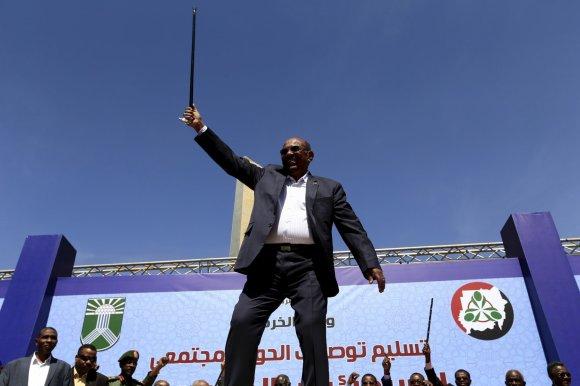 """""""Reuters""""/""""Scanpix"""" nuotr./Sudano prezidentas Omaras al Bashiras"""