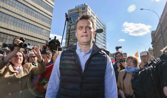 """AFP/""""Scanpix"""" nuotr./A.Navalnas vėl sukvietė rusus į gatves"""