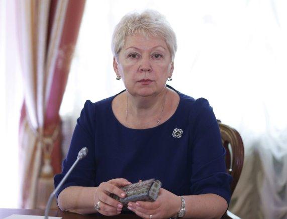 """""""Scanpix"""" nuotr./Rusijos švietimo ir mokslo ministrė Olga Vasiljeva"""