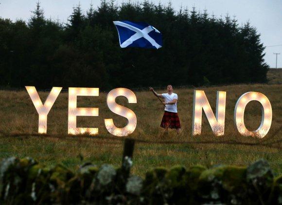 "AFP/""Scanpix"" nuotr./Škotijos referendumas"